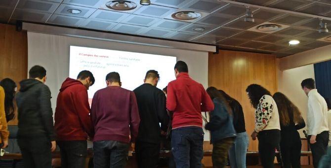 Studenti dell'Itis Pezzullo di Cosenza all'incontro per la Giornata mondiale delle donne nelle scienze