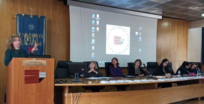Giornata mondiale delle donne nelle scienze - un momento dell'incontro all'Unical