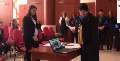 Seduta di laurea in streaming all'Unical