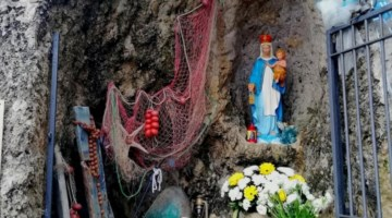 La Madonnina del mare a Briatico (foto Pino Albanese)