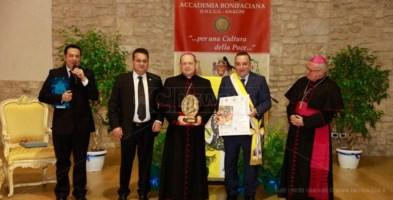Al vescovo di Locri il premio Bonifacio VIII per una cultura della pace
