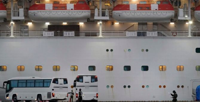 La nave Diamond Princess