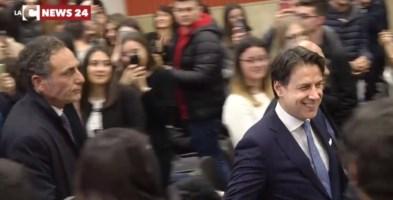 Giuseppe Conte a Gioia Tauro