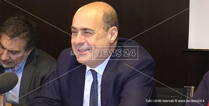 Pd, il segretario Zingaretti