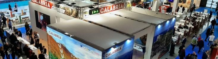 Lo stand della Calabria alla Bit