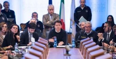 La riunione nella sede dalla Protezione civile