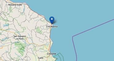 Terremoto nel Crotonese