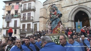 Madonna del Pilerio, torna la tradizione dei drappi esposti a Palazzo del Sedile