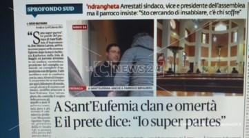 """Il prete """"super partes"""" che non parla di mafia accusa LaC ma il video lo smentisce"""