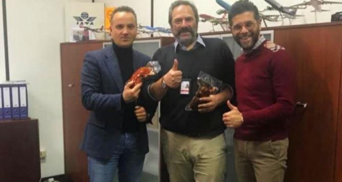 I rappresentanti Gal terre vibonesi Barbalace e Papillo incontrano il direttore Farabbi