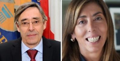 Baldo Esposito e Tilde Minasi