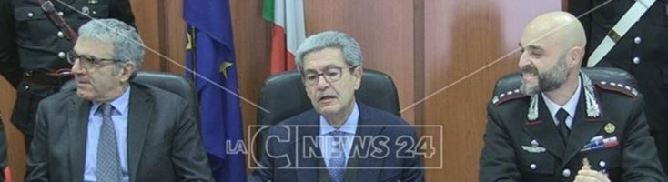 La conferenza stampa del procuratore Spagnuolo