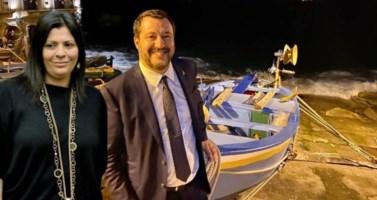 Jole Santelli e Matteo Salvini