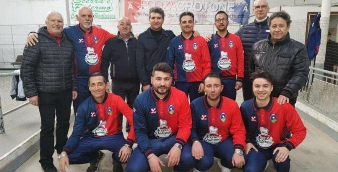 La squadra della Città di Crotone