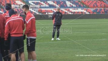 Cosenza, ecco Bepi Pillon: primo allenamento per il nuovo coach