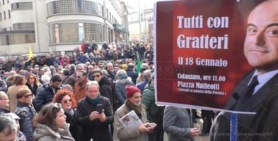 «Gratteri non si tocca»: in piazza a Catanzaro il volto pulito della Calabria