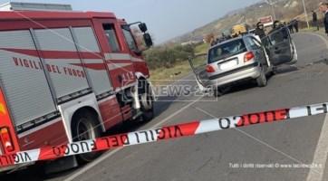 Incidente a Rende, carambola di auto: quattro veicoli coinvolti