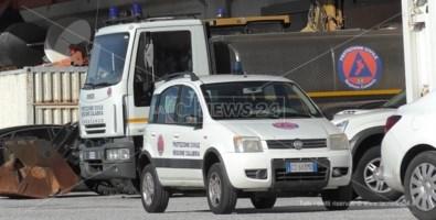 I mezzi rubati alla Protezione civile di Catanzaro ritrovati a Rosarno