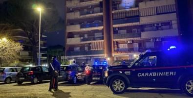 Carabinieri a San Basilio