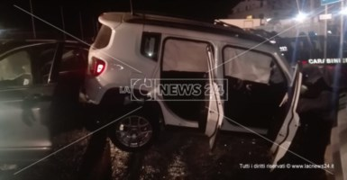 Incidente a Curinga, scontro sulla statale 18: coniugi in ospedale