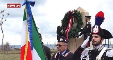 Scilla ricorda i carabinieri Fava e Garofalo