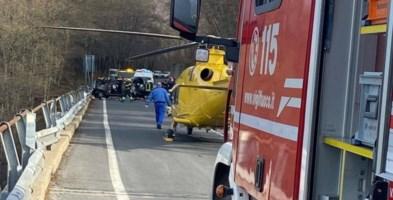 Incidente sulla statale 107 nel Cosentino, interviene l'elisoccorso