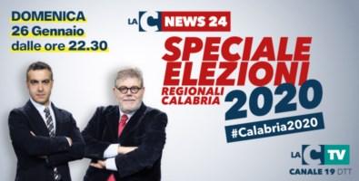 Elezioni regionali 2020 in Calabria, la maratona elettorale su LaC Tv