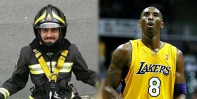 Nino Candido e Kobe Bryant