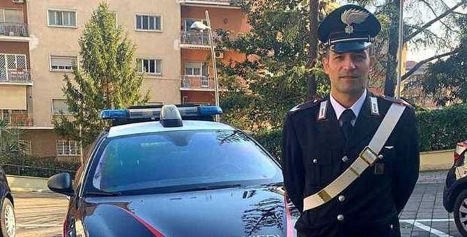 Il carabiniere Angelo Perillo - Foto Il messaggero