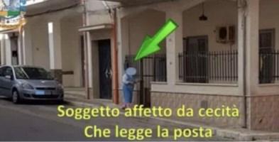 Un fotogramma del video della Guardia di Finanza di Palermo su un falso invalido