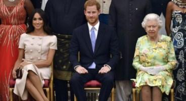 Meghan, Harry e la regina Elisabetta