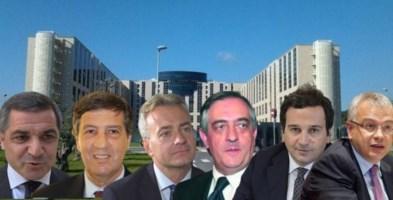 Arruzzolo, Parente, Gallo, Molinari, Orsomarso e Talarico