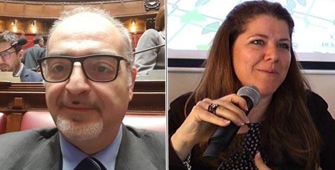 Massimo Misiti e Fulvia Caligiuri