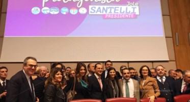 Il debutto della Santelli a Reggio Calabria