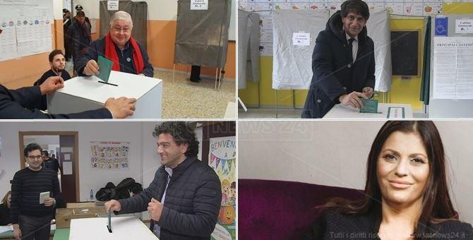 Pippo Callipo, Carlo Tansi, Francesco Aiello e Jole Santelli