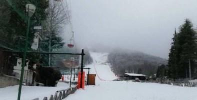 Le piste da sci di Gambarie