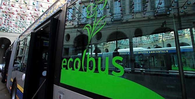 Autobus ecologico, immagine di repertorio