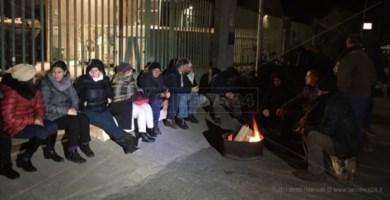 La protesta dei lavoratori della Locride Ambiente