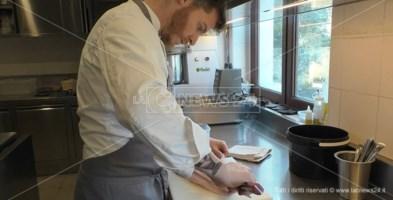 Lo chef Luca Abbruzzino