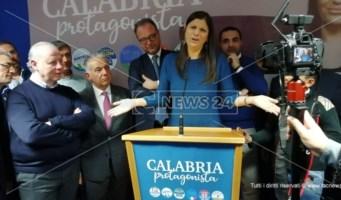 Giorgio Mulè spinge la corsa di Jole Santelli: «Con lei la Calabria metterà le ali»
