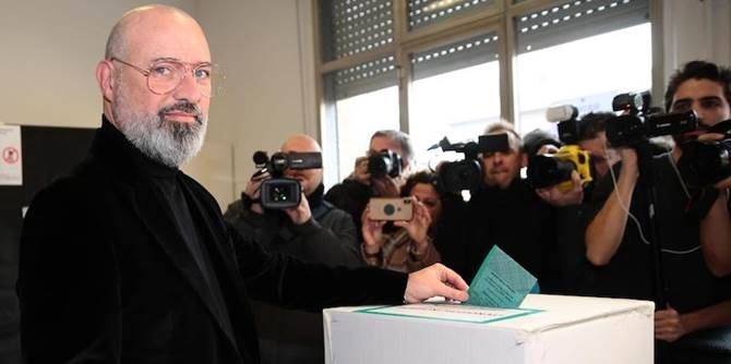 Elezioni in Emilia, Bonaccini (foto Il post)