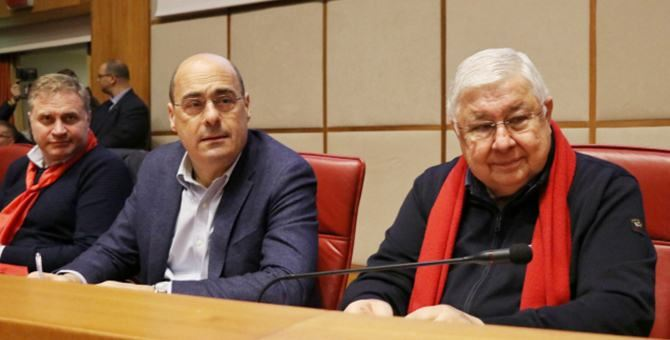 Graziano, Zingaretti e Callipo