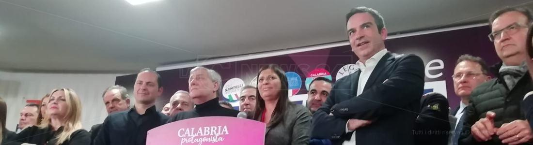 Elezioni regionali, in Calabria trionfa Jole Santelli: «Abbiamo vinto a mani libere»