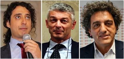 Paolo Parentela, Nicola Morra e Francesco Aiello