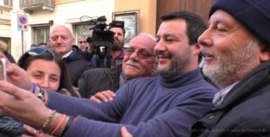 Salvini a Catanzaro: «I delusi voteranno il cambiamento, la Lega»