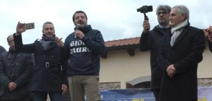 Salvini a Gioia Tauro: «La Lega è pronta a governare la Calabria»