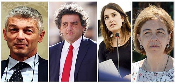 M5s: Nicola Morra, Francesco Aiello, Laura Ferrara, Margherita Corrado
