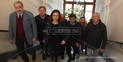 Trasporti, il ministro in Calabria: «Presto l'inaugurazione del terzo megalotto della 106»