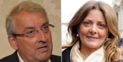 Ernesto Magorno e Stefania Covello