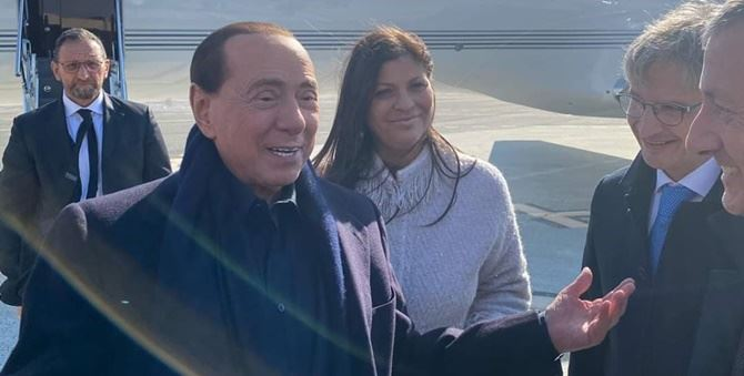 Silvio Berlusconi a Lamezia